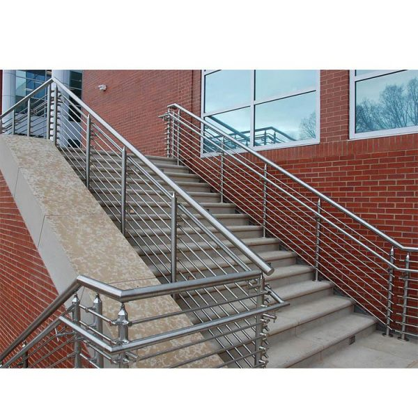 China WDMA staircase railing stainless steel Balustrades Handrails