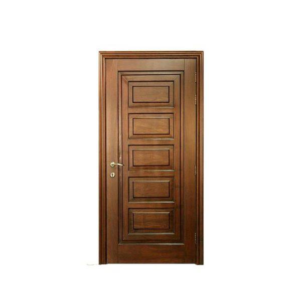 China WDMA front door Wooden doors