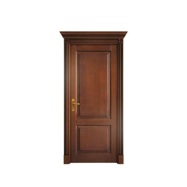 WDMA MDF flush solid wood door Wooden doors