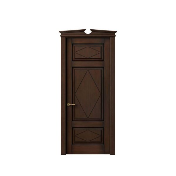 China WDMA Melamine Interior Doors Model In Romania