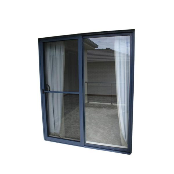 WDMA Miami Dade Code Standards Waterproof Hurricane Impact Aluminium Alloy Exterior Sliding Glass Doors Prices