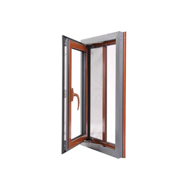 WDMA Miami Dade Testing Standard Puertana Aluminium Commercial System Casement Windows Made In China On Sales