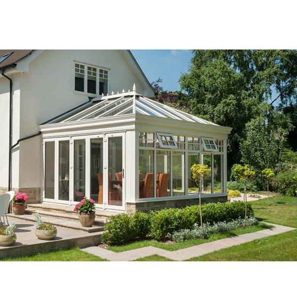 China WDMA glass green house Aluminum Sunroom