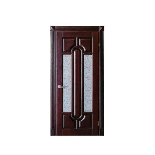 WDMA modern wood carving door design