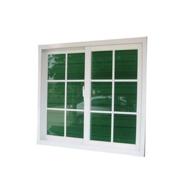 WDMA aluminium sliding window with iron grill