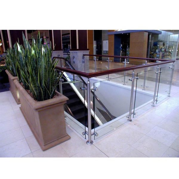 WDMA Modern Terrace Front Porch Balcony Metal Stair Hand Railing Balusters Outdoor Design
