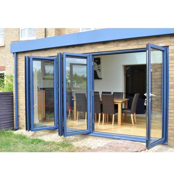 WDMA aluminium doors Aluminum Folding Doors