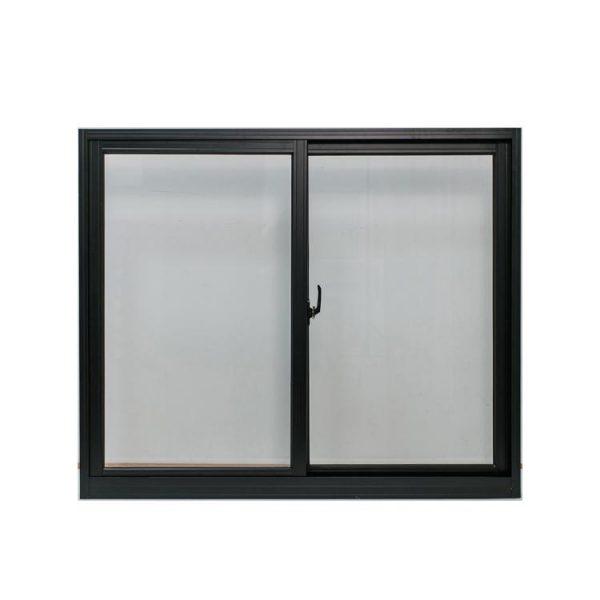 WDMA Narrow Frame Minimal Slimline Aluminium Frame Sliding Window With Mosquito Netting Screen