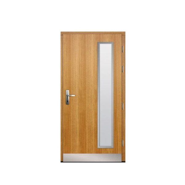 WDMA flat teak wood main door designs