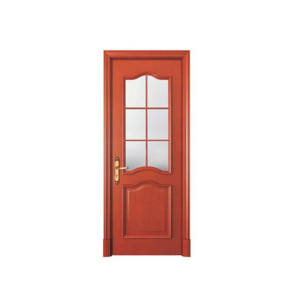 China WDMA New Design Interior Carved Wooden Door From China