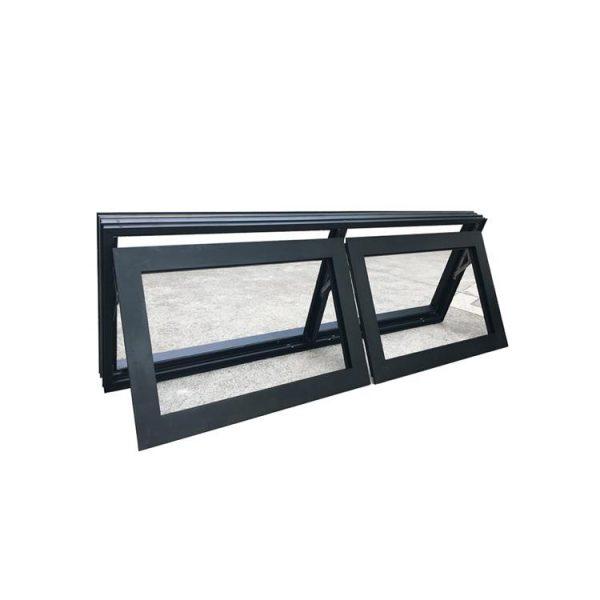 WDMA New Products Aluminum Tilt Out Window Bottom Hung Window Puertana Factory