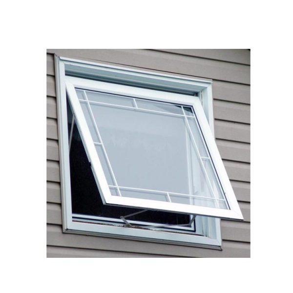China WDMA New Products Aluminum Tilt Out Window Bottom Hung Window Puertana Factory