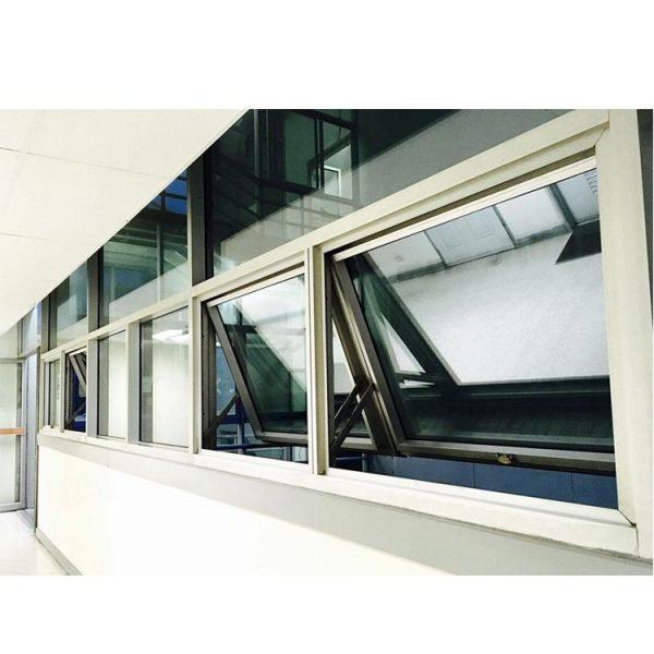 China WDMA aluminum tilt out window bottom hung window puertana factory Aluminum Awning Window