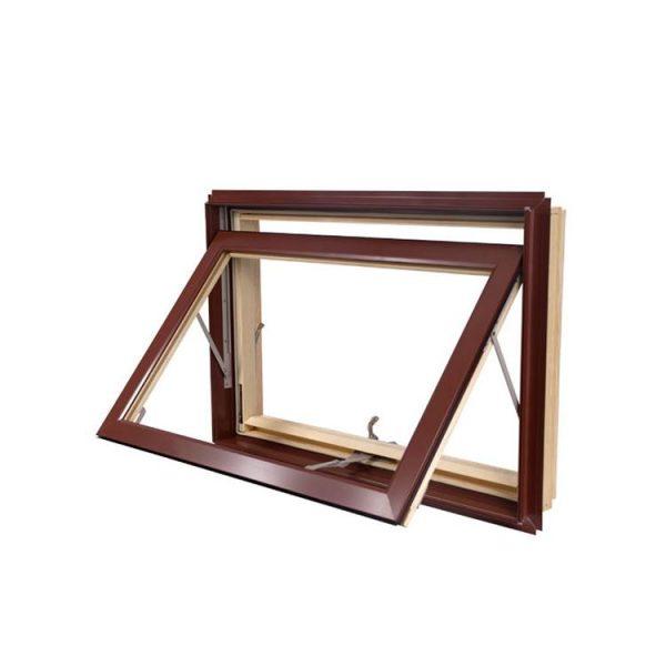 China WDMA New Products Australia Wers Standard Double Glass Awning Window