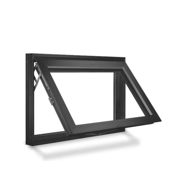 China WDMA New Products Double Glass Aluminum Awning Windows