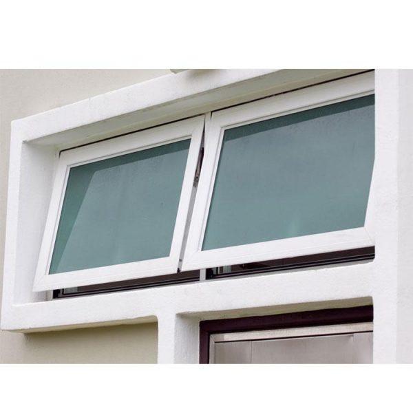 WDMA motorized awning windows Aluminum Awning Window
