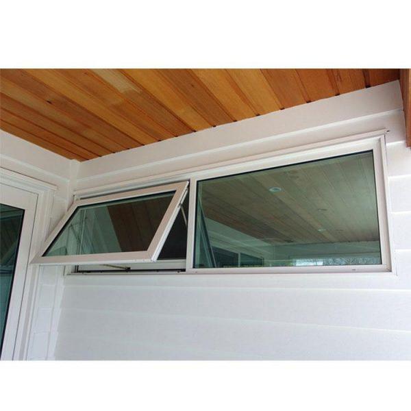 China WDMA motorized awning windows