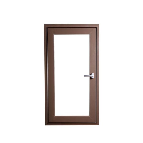 China WDMA New Products Toughened Glass Aluminium Round Window Half Round Windows Casement Alu Wood Windows