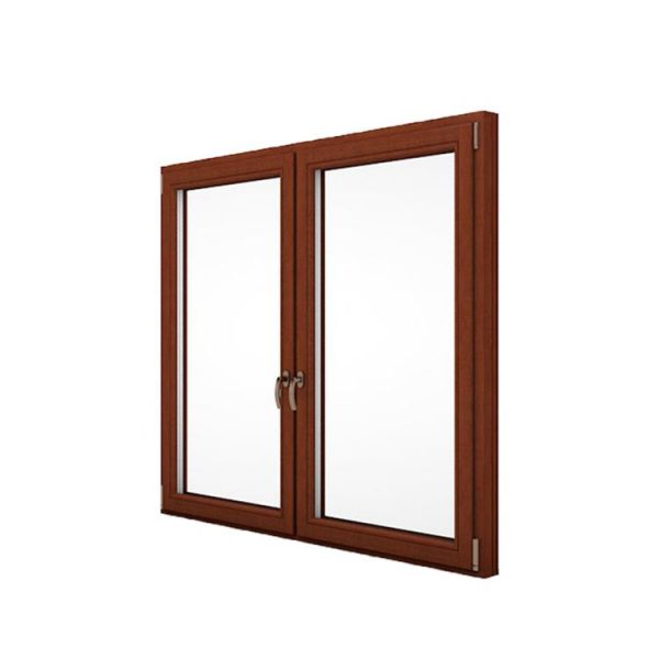 China WDMA alu wood windows Aluminum Casement Window