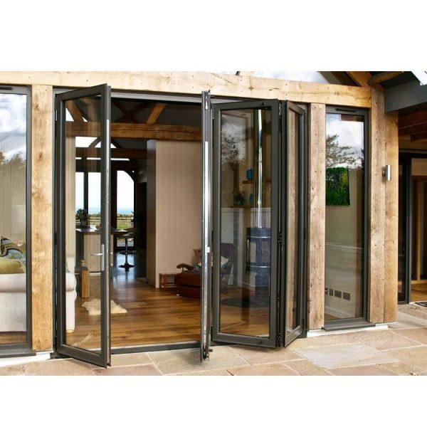 WDMA Aluminium Bi Folding Door