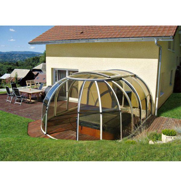WDMA Retractable Swimming Pool Enclosures