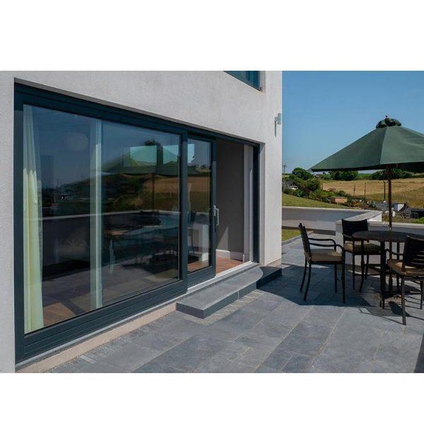 China WDMA Outdoor Heavy Duty Aluminium Lift Glass Sliding Door System Design Men Door Design For Home