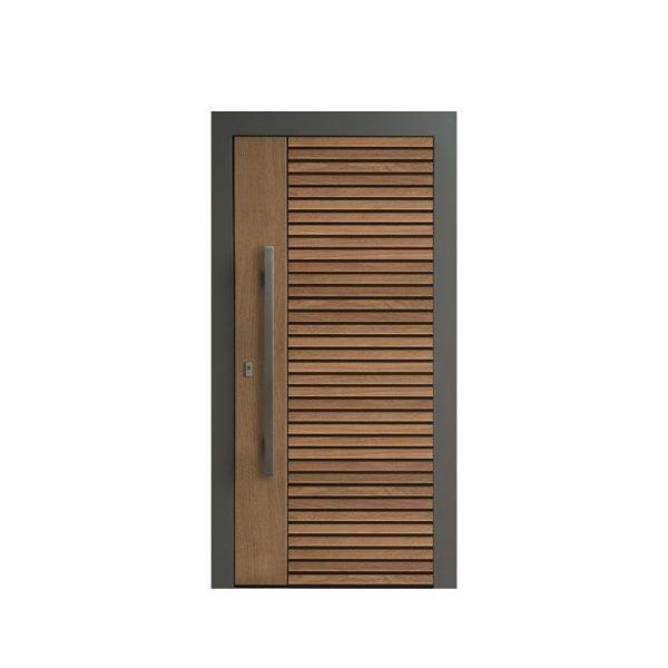 China WDMA Outdoor Heavy Duty Design Wood Entrance Entry Interior Pivot Door
