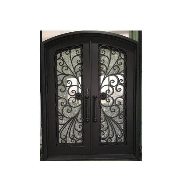 WDMA wrought iron door outdoor