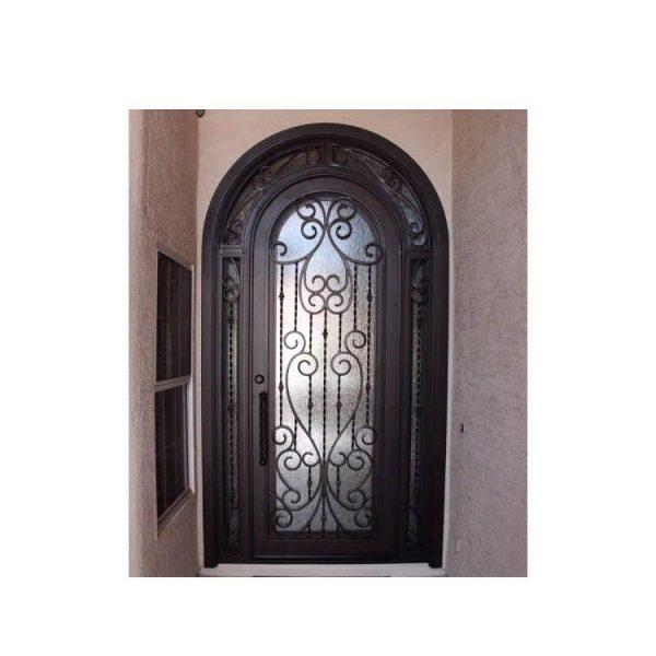 WDMA wrought iron patio door
