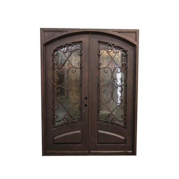 WDMA double door iron gate