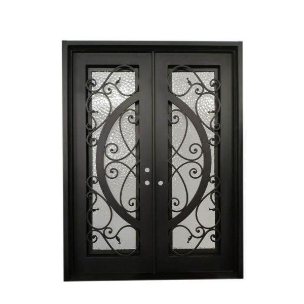 China WDMA double door iron gate