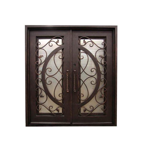 China WDMA interior wrought iron door