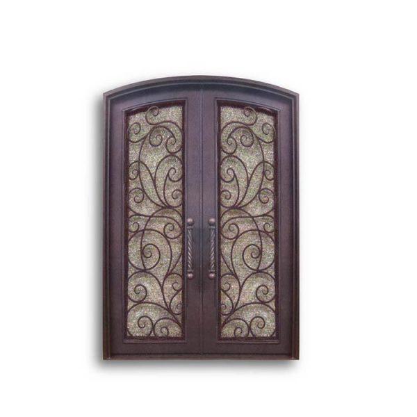 China WDMA interior wrought iron door Steel Door Wrought Iron Door