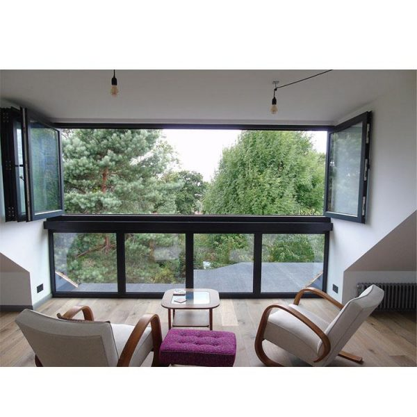 WDMA bifold window Aluminum Folding Window