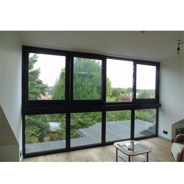 China WDMA Prefabricated Bifold Window Aluminum Profile Windows And Doors
