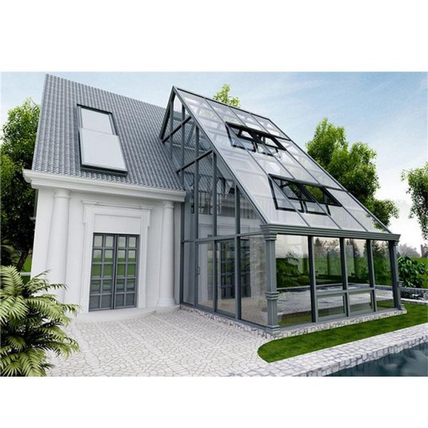 WDMA Prefabricated Conservatory House Lean To Sunroom