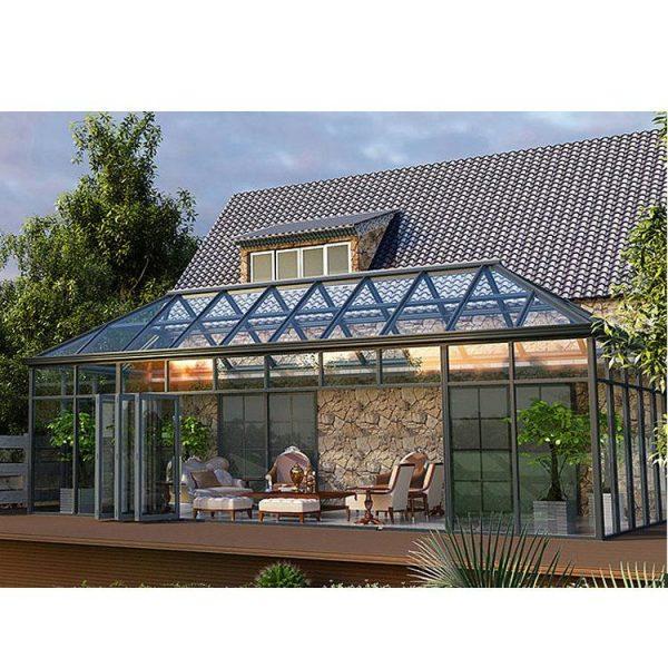 WDMA prefabricated conservatory Aluminum Sunroom