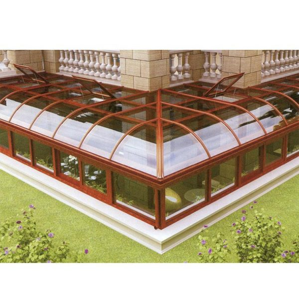 China WDMA prefabricated conservatory Aluminum Sunroom