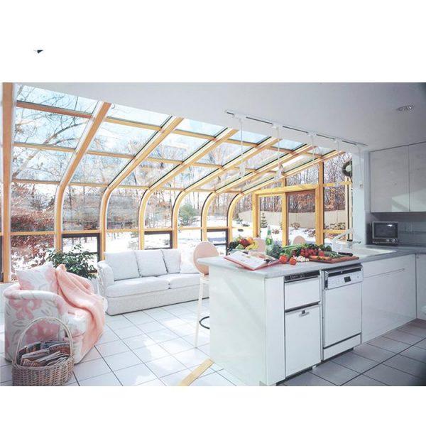 China WDMA Prefabricated Four Seasons Aluminum Glass Sunrooms Conservatory House