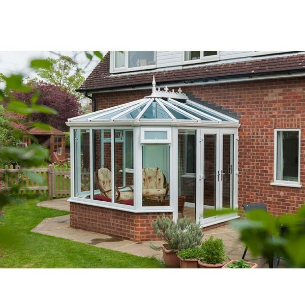WDMA Prefabricated Portable Aluminum Extrusion Sunrooms For Sale For House