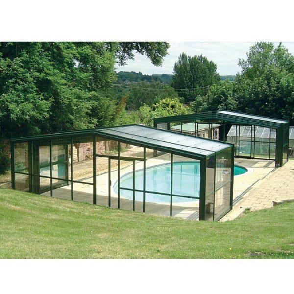 WDMA swimming pool enclosure Aluminum Sunroom