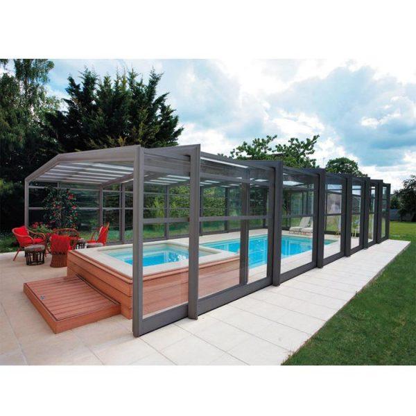 China WDMA swimming pool enclosure