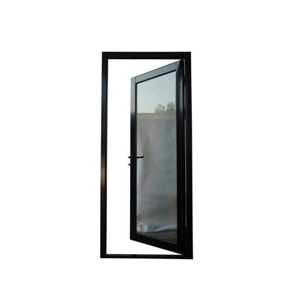 WDMA aluminum hinged door