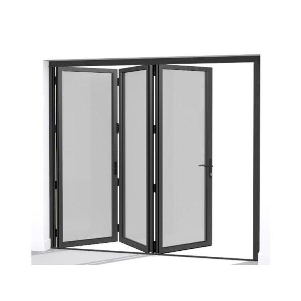 China WDMA Puertana New Style Customized Oem Ghana Aluminium Folding Sliding Door