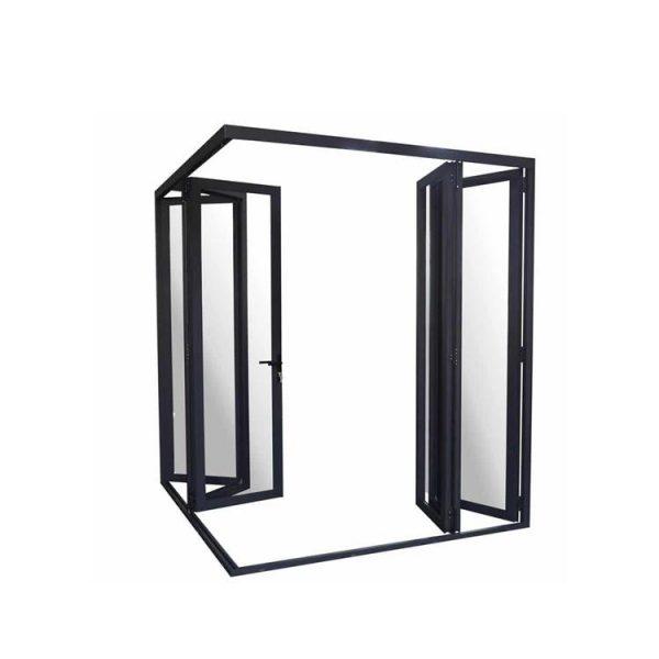 China WDMA ghana door Aluminum Folding Doors