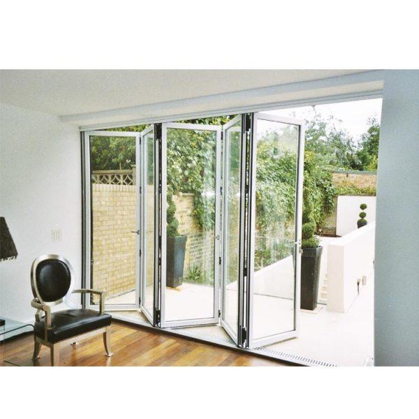 WDMA door price Aluminum Folding Doors