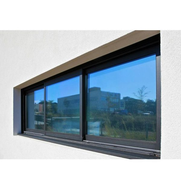 WDMA Residential Sound Proof Aluminium Sliding Window And Door With Blue Glass Design For House Bathroom In Australian Standard