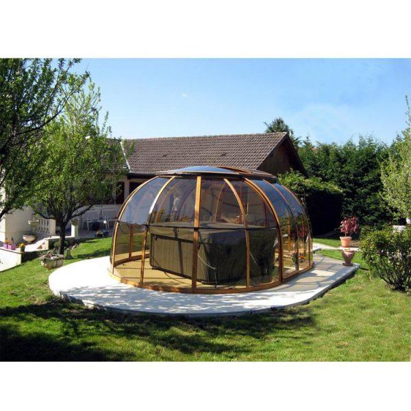 China WDMA pool dome cover Aluminum Sunroom