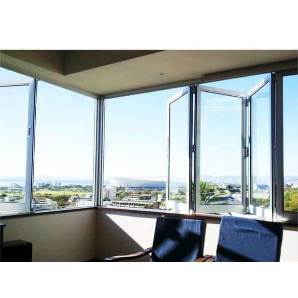 WDMA corner butt joint window Aluminum Folding Window