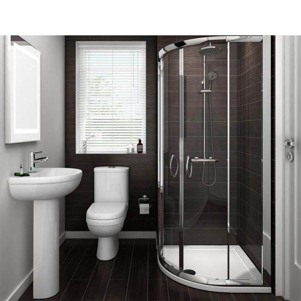 WDMA 3 panel shower enclosure Shower door room cabin